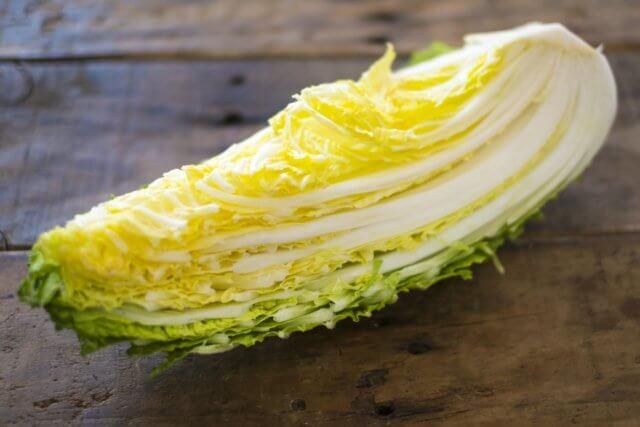 白菜の栄養素