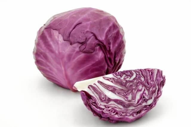 赤(紫キャベツ)の栄養素