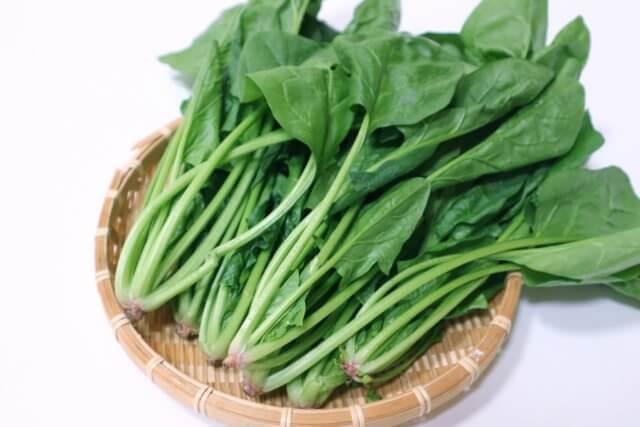ほうれん草の栄養素