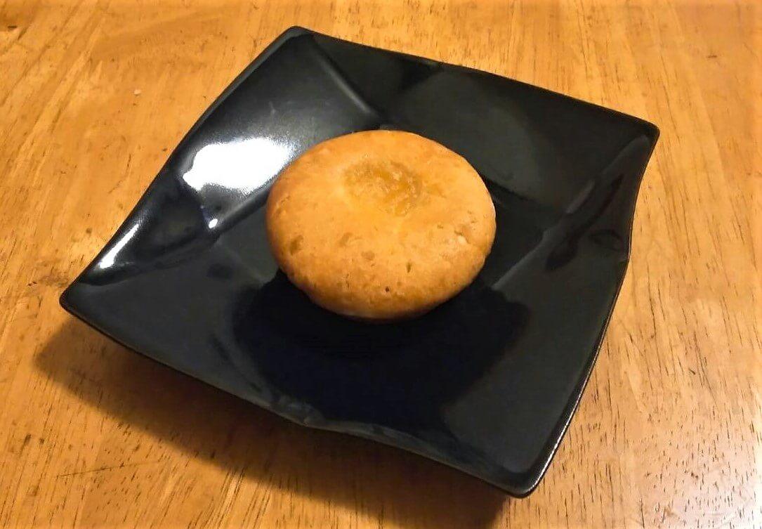 無農薬柚子のケーキ
