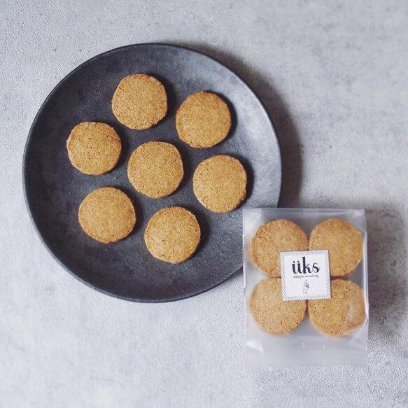 ユクス 全粒粉スペルト小麦のクッキー
