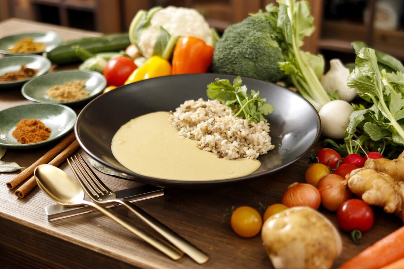 WELBALANCE 一流料理人も認めた美味しさ 野菜のみで作った低カロリーカレー
