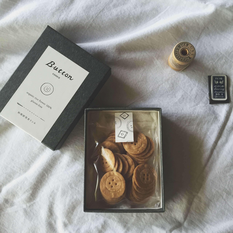 料理研究舎リンネのボタンクッキー