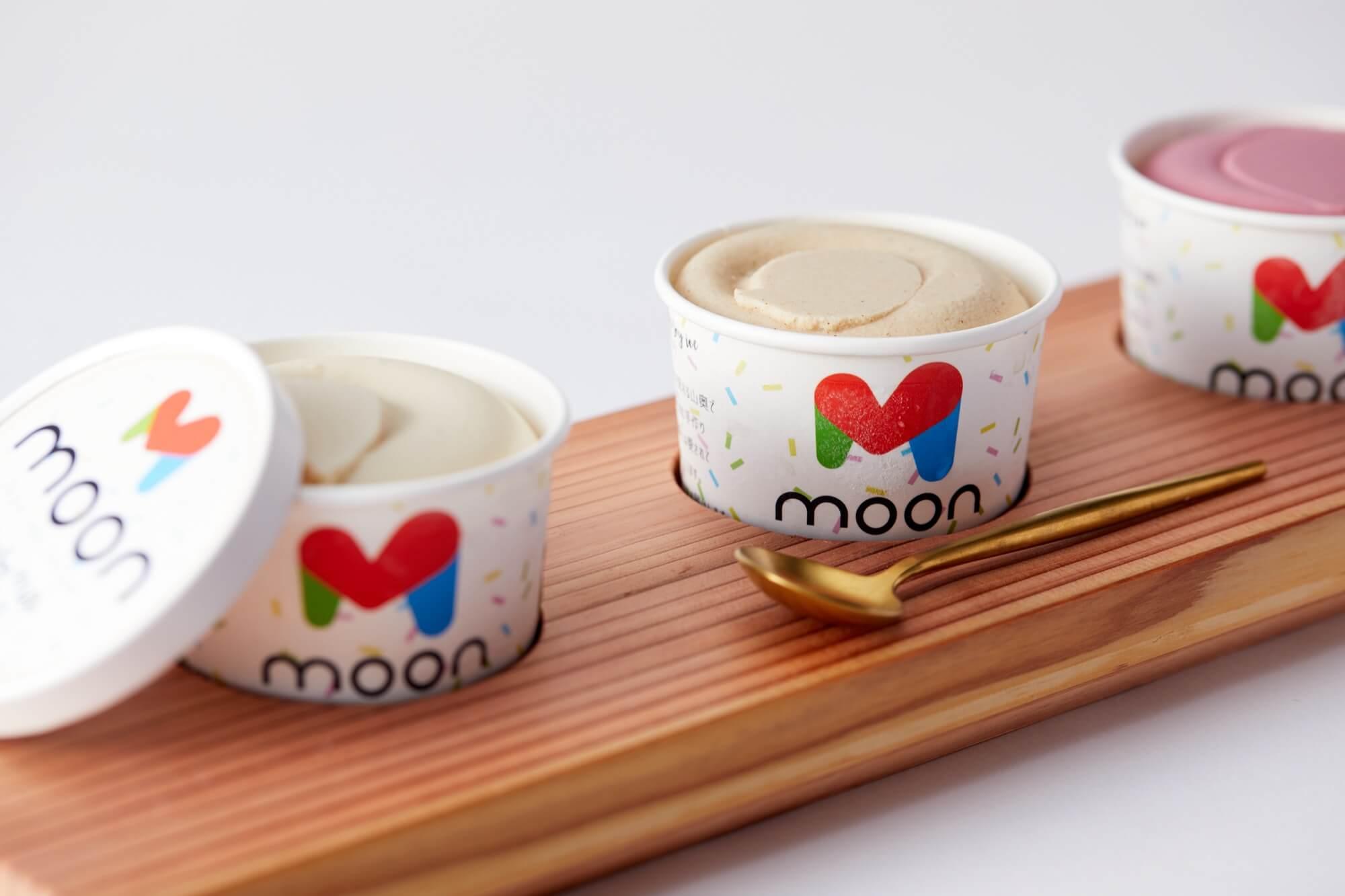 MOON FOOD JAPANの豆乳アイス