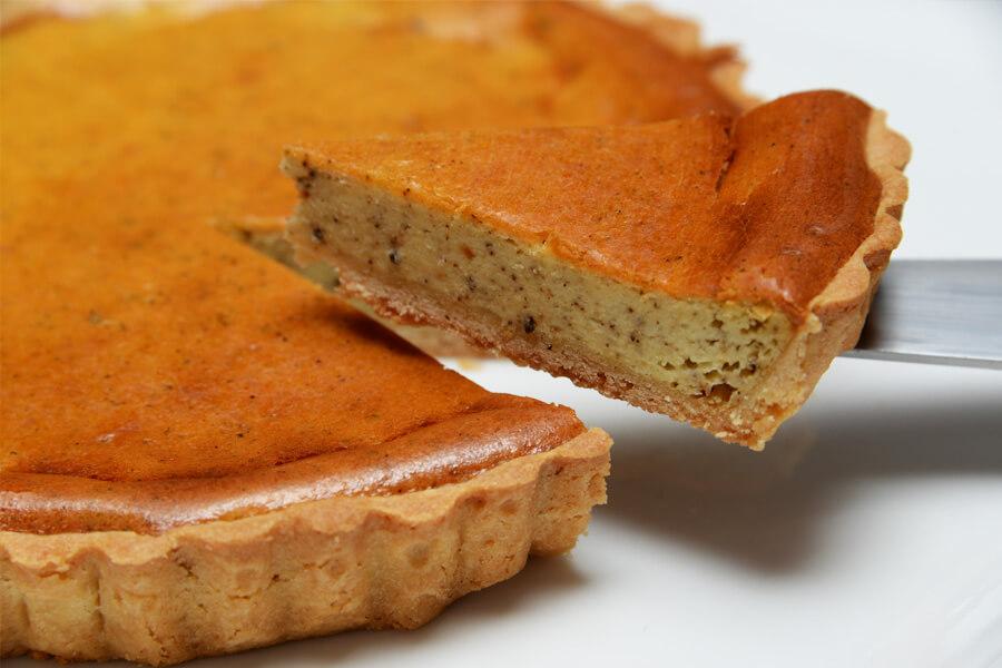 菓歩菓歩のアールグレイ紅茶チーズタルト