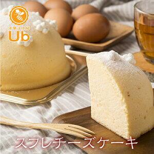 洋菓子工房ubのスフレチーズケーキ