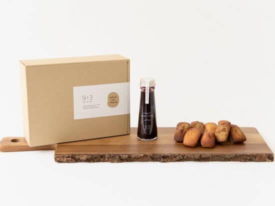 NEUF UN TROIS 大豆粉のフィナンシェと無添加フルーツソース
