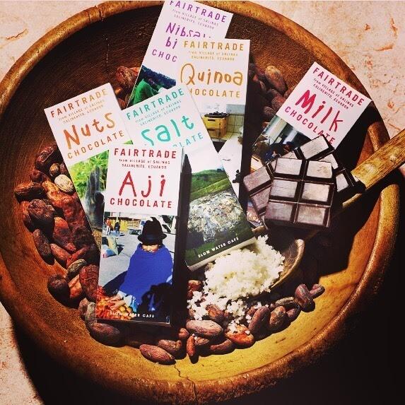 サリナス村のオーガニック板チョコレート