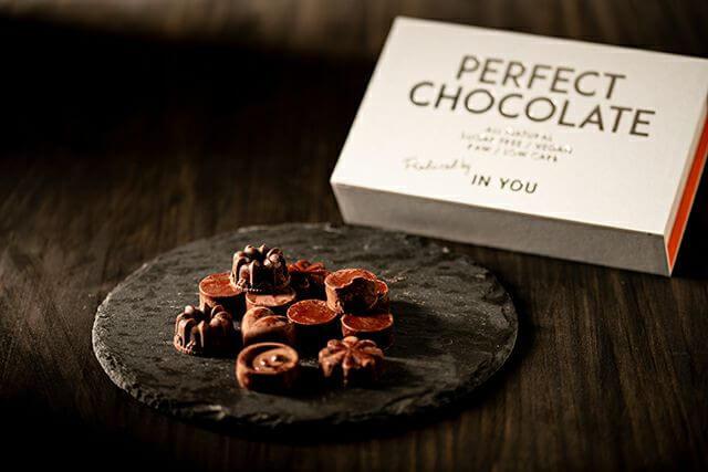IN YOUの血糖値を上げないパーフェクトチョコレート