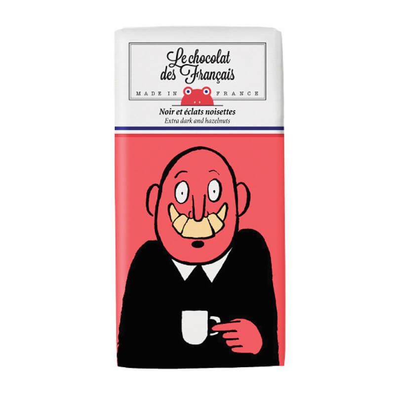 ル・ショコラ・デ・フランセの大笑いダーク・ヘーゼルナッツ カカオ