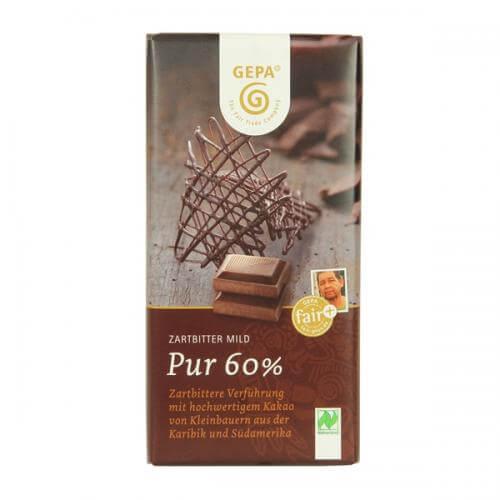 ゲパのオーガニックダークチョコレート