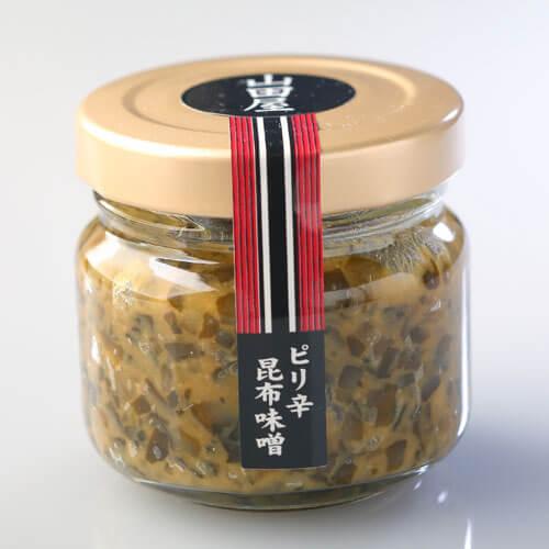 山田屋のピリ辛昆布味噌