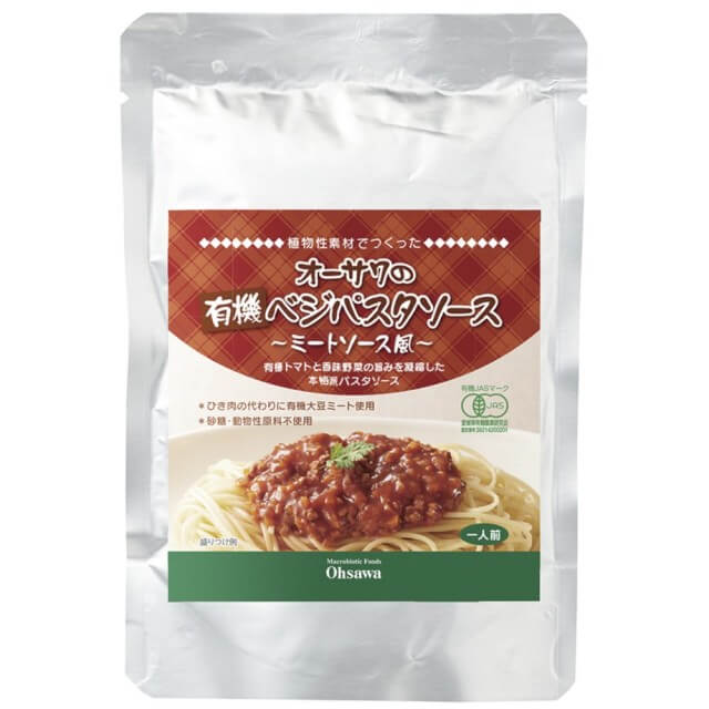 オーサワジャパン オーサワの有機ベジパスタソース(ミートソース風)