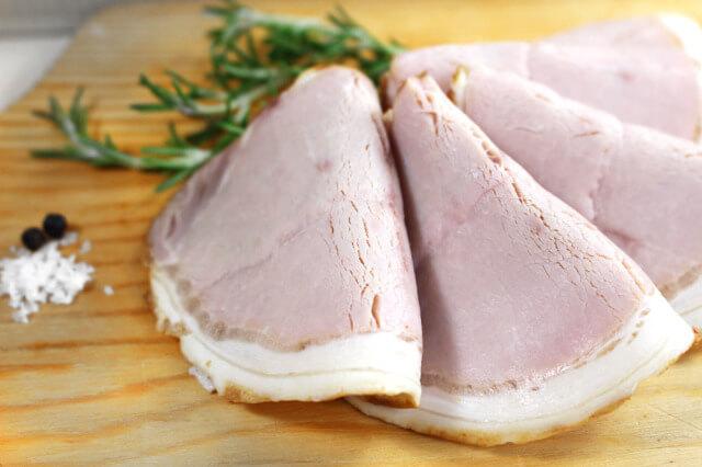 シャルキュティエ田嶋の九州産豚肉使用 無添加ロースハム